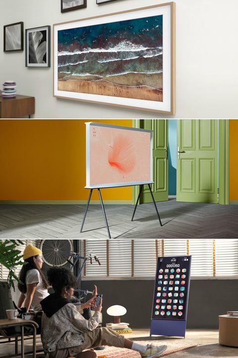 the frame, the serif y the sero, los nuevos televisores de samsung