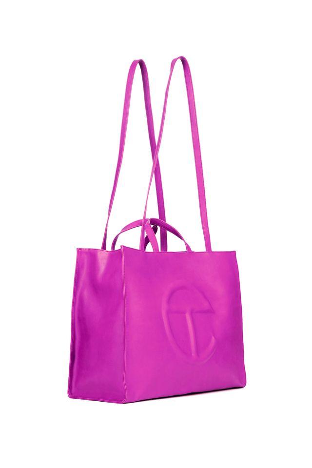 telfar, azalea bag, shopping bag, hot pink, spring 2021 collection