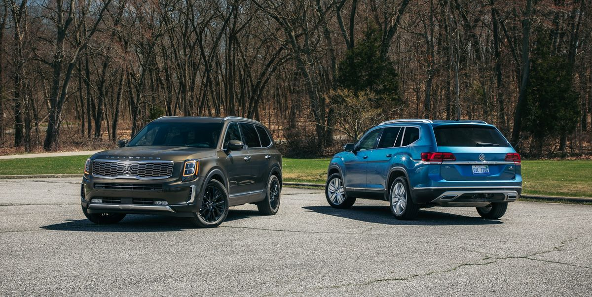 Vw Atlas Lease >> 2020 Kia Telluride vs. 2019 Volkswagen Atlas – Three-Row SUV Face-Off