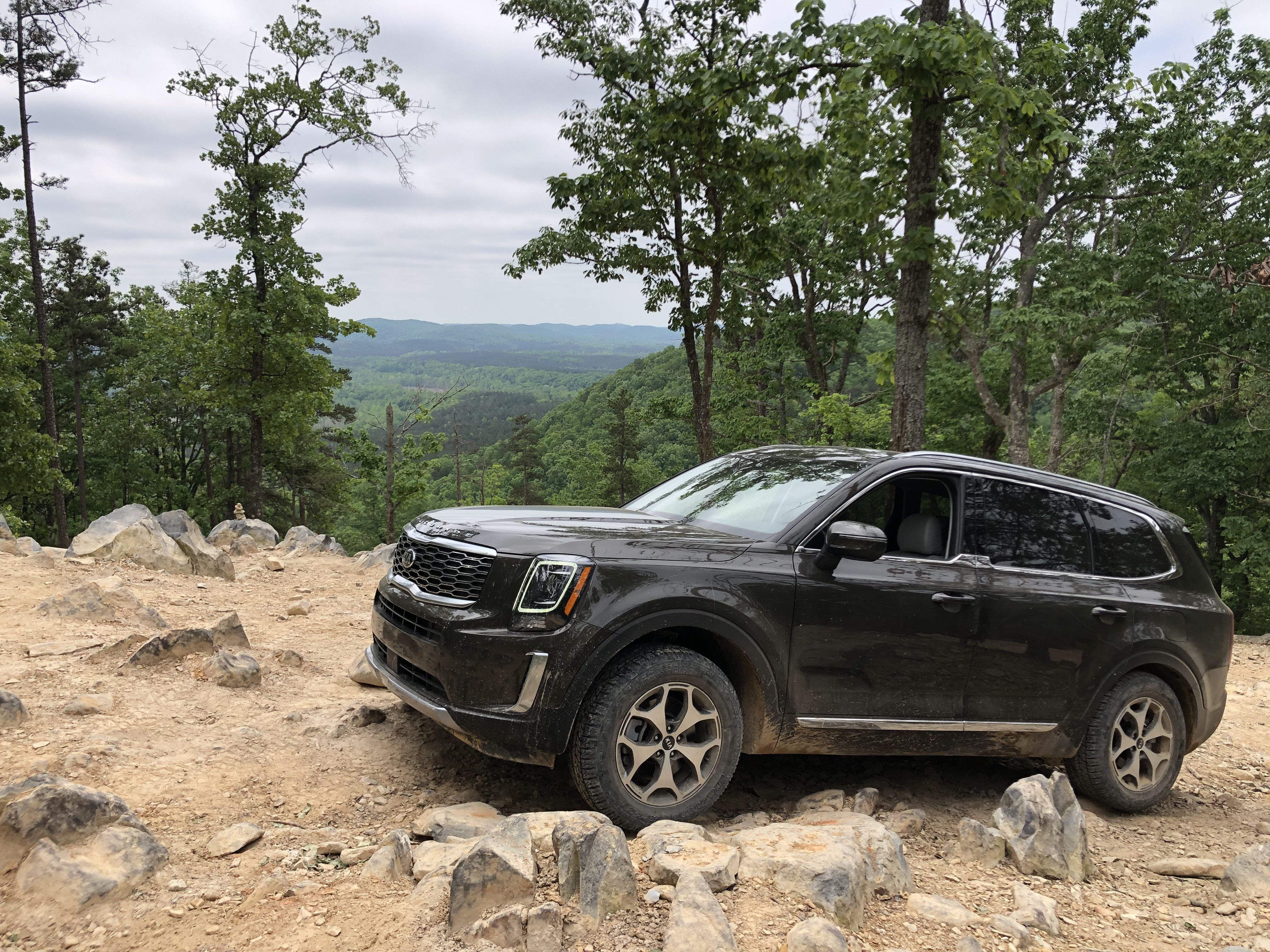 The Kia Telluride Has Some Serious Off-Road Chops