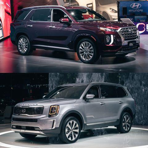 Kia Telluride vs. Hyundai Palisade: Specs, Pricing, and More