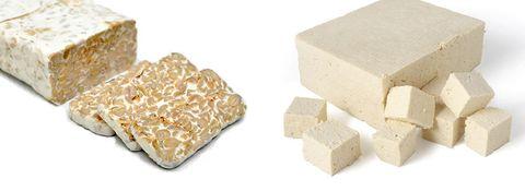 Tofu vs tempeh