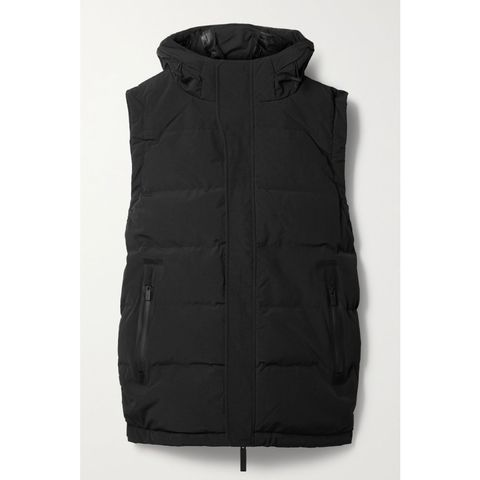 templa 2l 20k hooded quilted ski vest