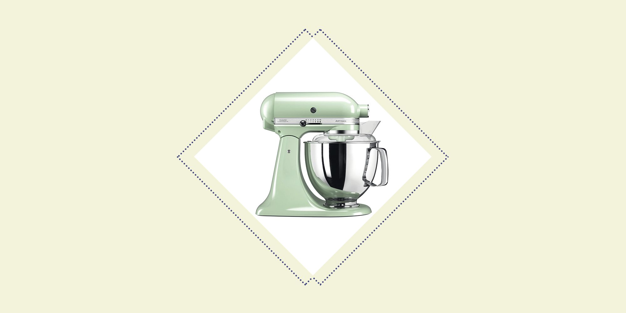 This is the exact KitchenAid stand mixer used in the Bake Off tent