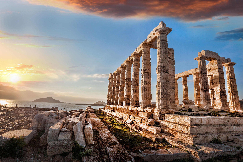 Why Mary Katrantzou is bringing her catwalk show to Greece's Temple of Poseidon