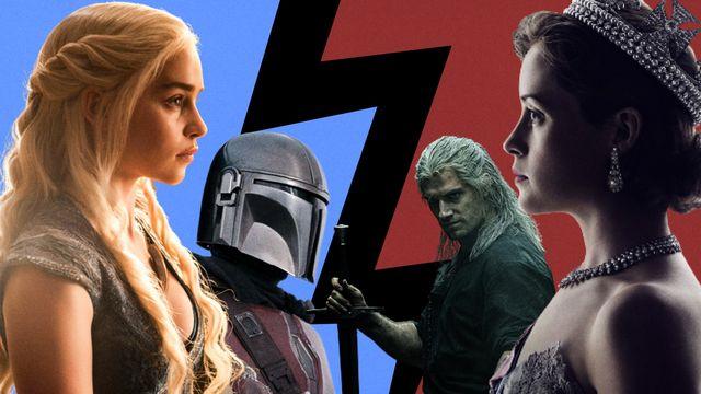 ¿episodio semanal o temporada completa juego de tronos, the mandalorian, the witcher y the crown