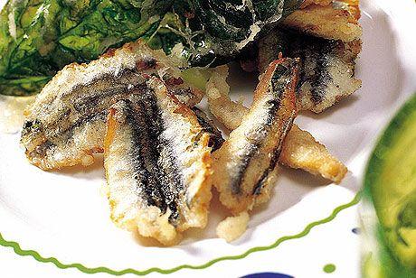 tempura de boquerones