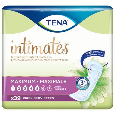 tena intimates maximum pads long