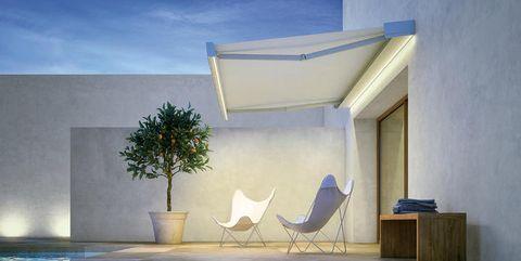 Tende Per Esterni Motorizzate.Tende Da Sole Per Esterni Di Design Le Ultime Novita Di Pratic