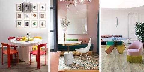Tendencia en decoración: pon una mesa-escultura en tu comedor