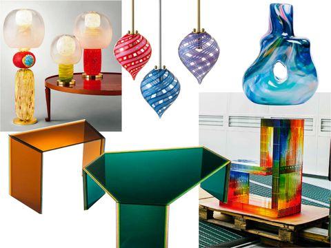 tendencias decoración piezas de cristal