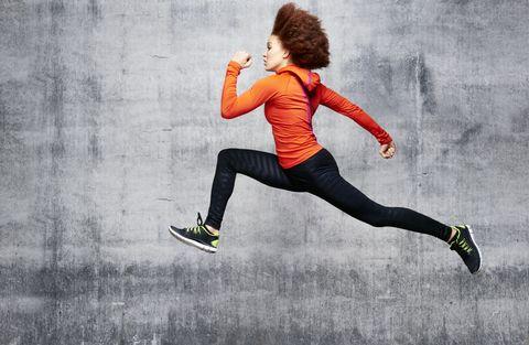 Running, Jumping, Recreation, Joint, Sportswear, Exercise, Footwear, Leg, Sports, Knee,