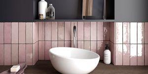 Tendencias originales en revestimientos para el baño