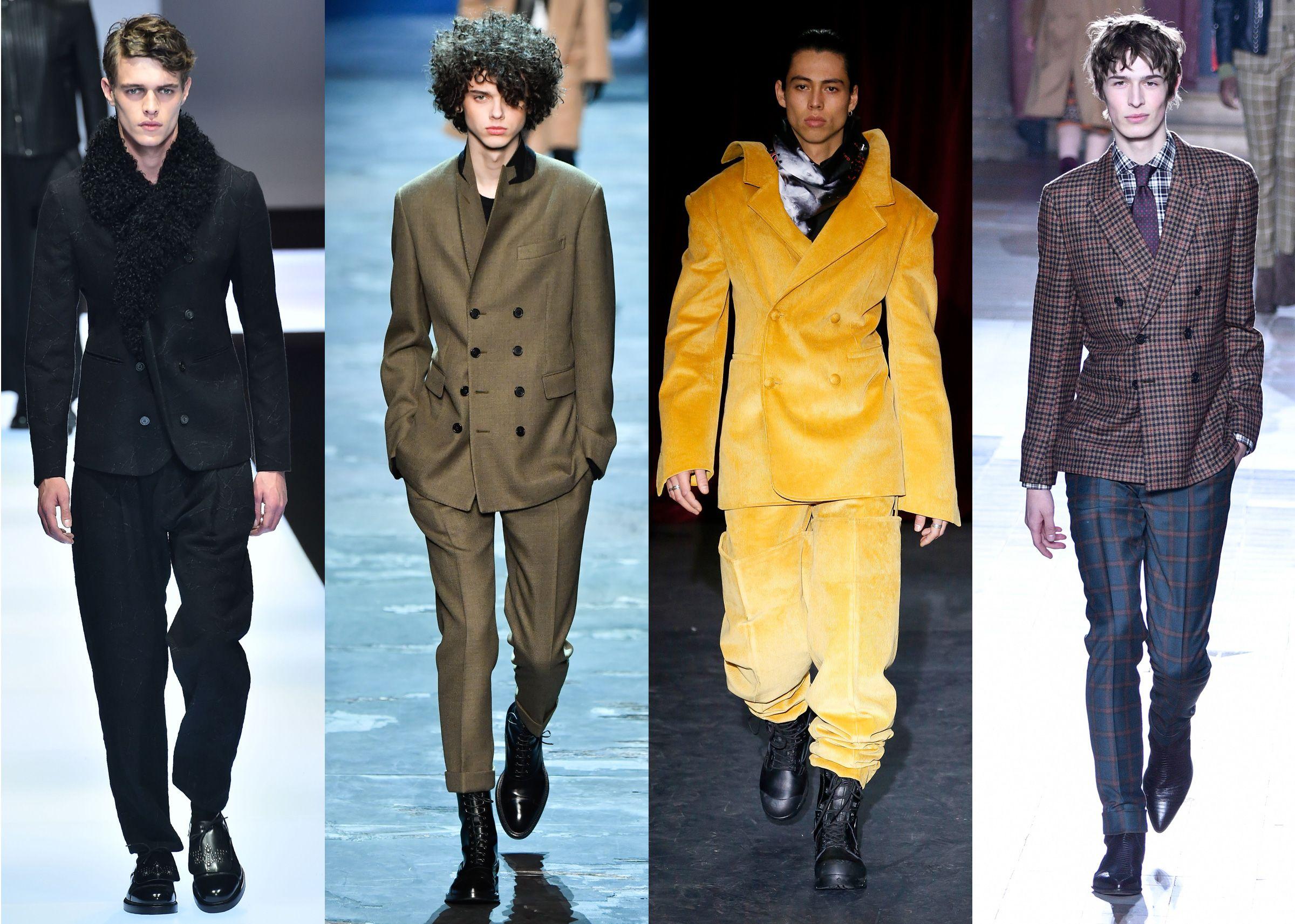 Tendencias ropa hombre 2018: americana cruzada