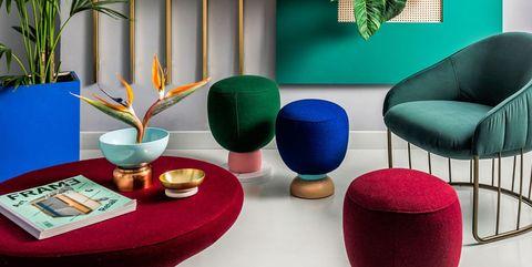 Tendencia en decoración: color-block