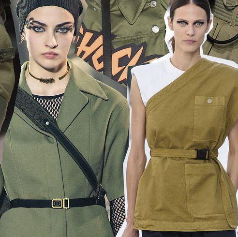 official photos e9cfe ed717 Tendenze moda Primavera Estate 2019: lo stile army tra ...