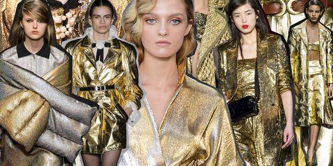 cheaper 747a9 332f9 Vestiti moda Inverno 2019: la tendenza li vuole color oro