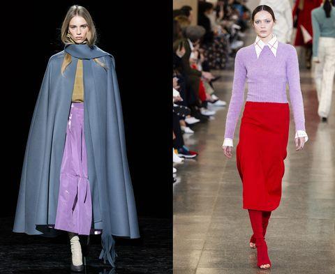 fdca8fdb2e Tendenza moda autunno inverno 2019-2020 con il colore lilla