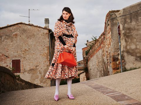 tendenze moda italiana pienza 2021 giacca prada