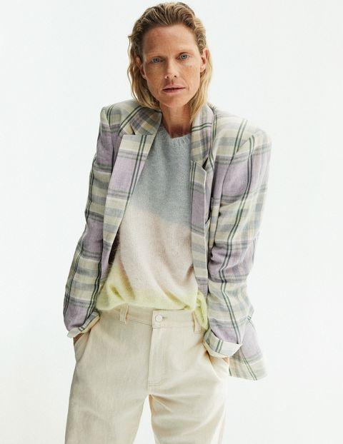tendenze moda jeans primavera 2021 giacca isabel marant