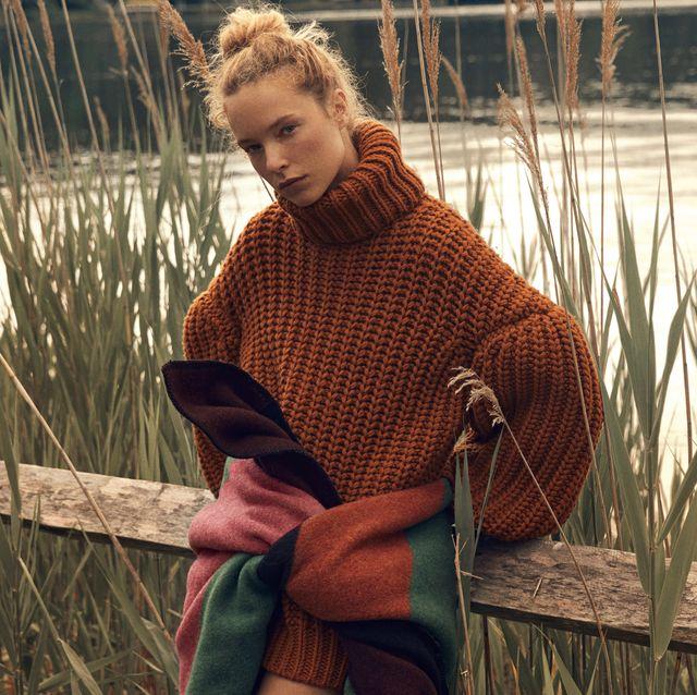 tendenze moda maglie lana inverno 2020 maglione oversize fendi