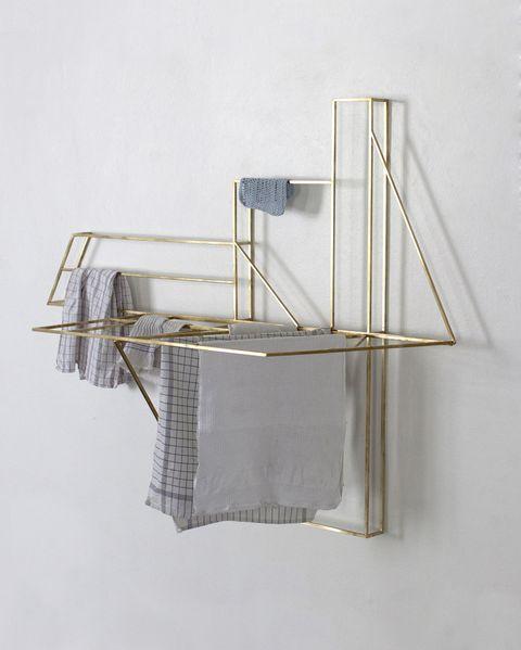 extremadamente único mejor lugar para materiales de alta calidad Foldwork, el tendedero plegable de diseño que decorará tu pared