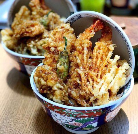 Dish, Food, Cuisine, Ingredient, Deep frying, Comfort food, Produce, Recipe, Tempura, Fried food,