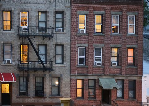 Tenements in Sunset Park, Brooklyn, New York City