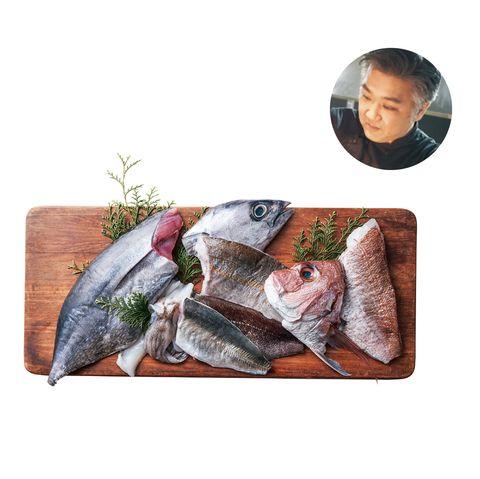 たべまる 「林鮮魚店」五島列島産 天然鮮魚box 田村シェフ