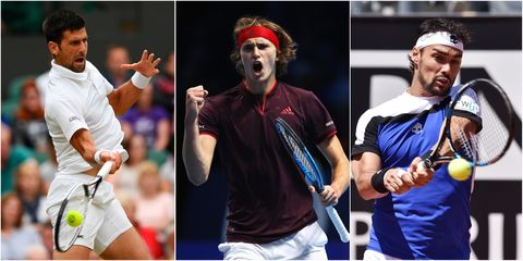 Tennis, Tennis player, Racquet sport, Championship, Facial hair, Competition event, Racket, Sports, Ball game, Gesture,