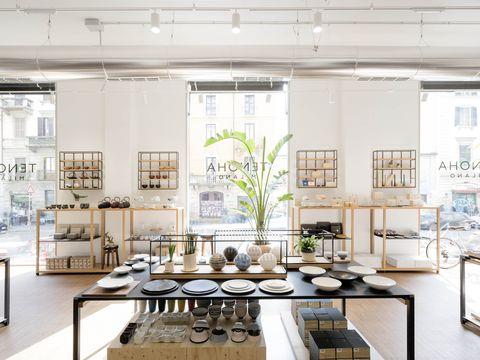 Interior design, Floor, Ceiling, Interior design, Design, Light fixture, Kitchen, Houseplant, Collection, Kitchen appliance,