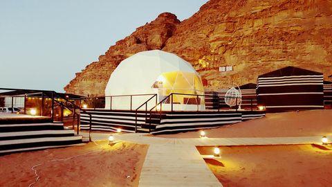 Tented Camp Hasan Zawaideh en Jordania
