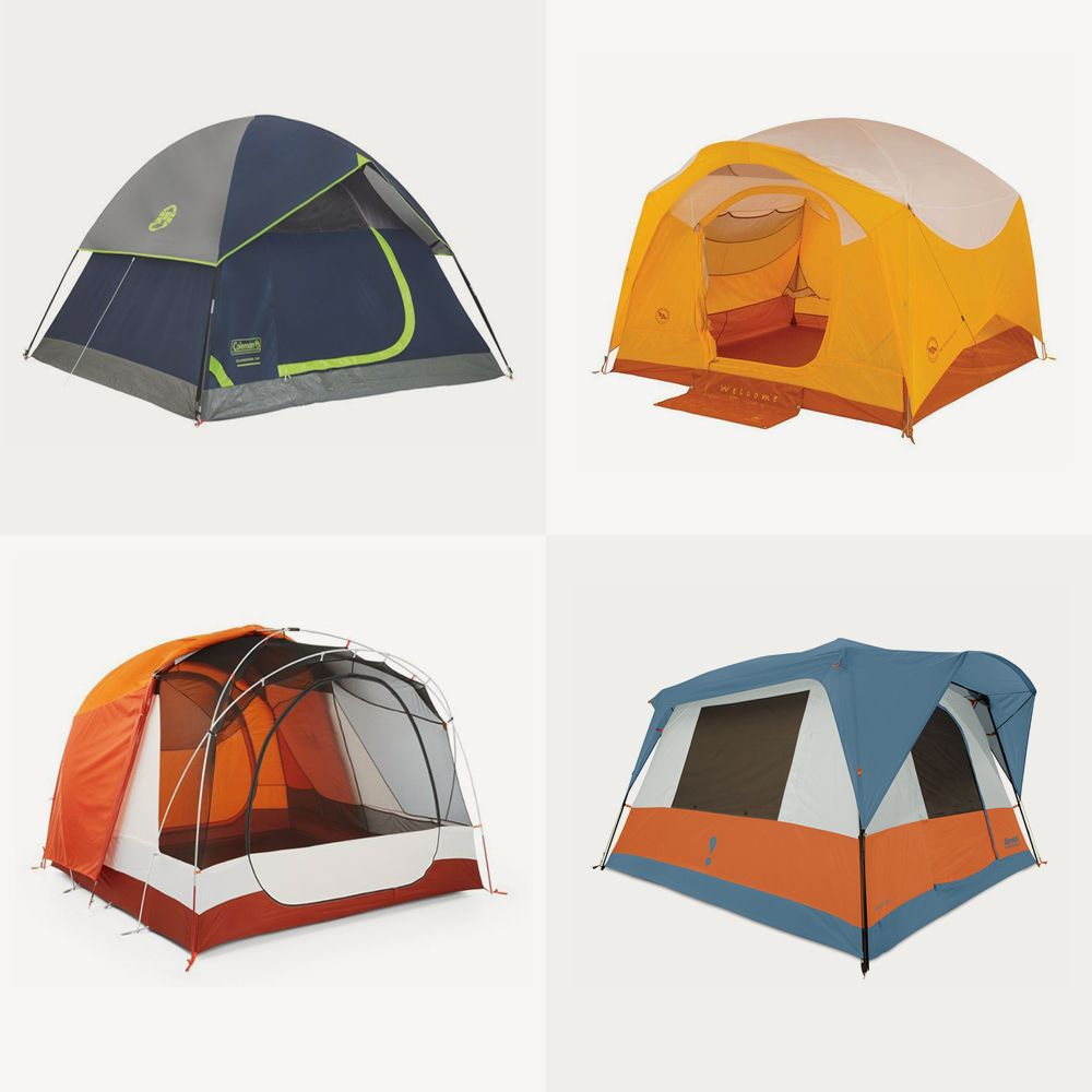 Connect Canopy Tent 4 Person All Season Camping Hiking Outdoor Cabin Tent