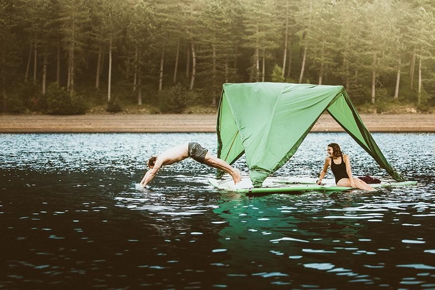 This Tent Is Part Treehouse, Part Raft—and It Sleeps Five!