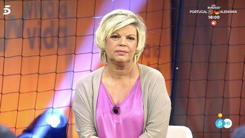 terelu campos valora la entrevista que alejandra rubio le hizo a carmen borrego