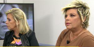 Terelu Campos rompe a llorar al ver las críticas hacia su hermana Carmen en Sálvame