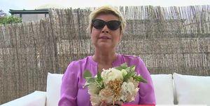 Terelu Campos,Terelu Campos ramo de novia Belén Esteban