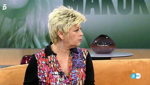 "terelu reacciona a la polémica entrevista de carmen borrego ""estoy dolida"""