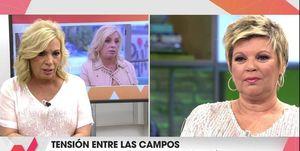 Carmen Borrego, Terelu Campos, Terelu Campos y Carmen Borrego, Las Campos, Viva la vida, Terelu Campos y Carmen Borrego enfrentamiento