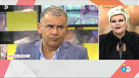 Terelu Campos, Sálvame, Viva la vida, Jorge Javier