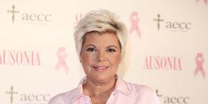 Terelu Campos apoya una campaña por la lucha contra el cáncer de mama