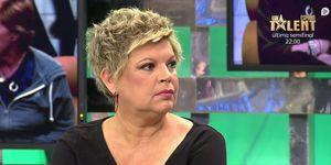 Terelu Campos defiende a Carmen Borrego en 'Sálvame'
