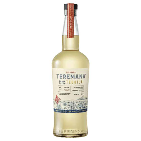 bottle of teremana reposado tequila