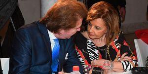 Edmundo Arrocet y Teresa Campos