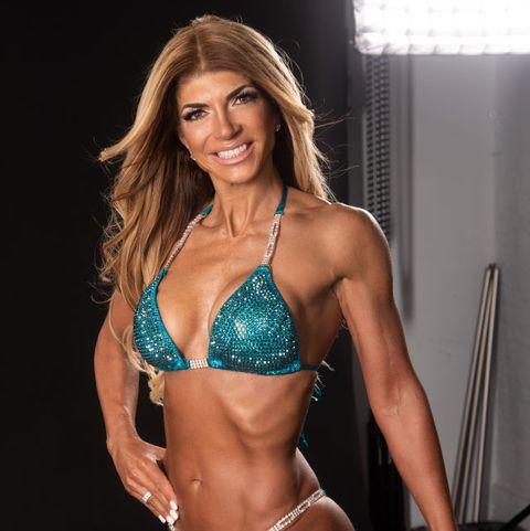 Teresa Giudice Bodybuilding Fitness Shoot