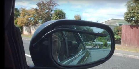 Vehicle, Car, Automotive exterior, Automotive mirror, Rear-view mirror, Auto part, Mirror, Mode of transport, Vehicle door, Automotive side-view mirror,