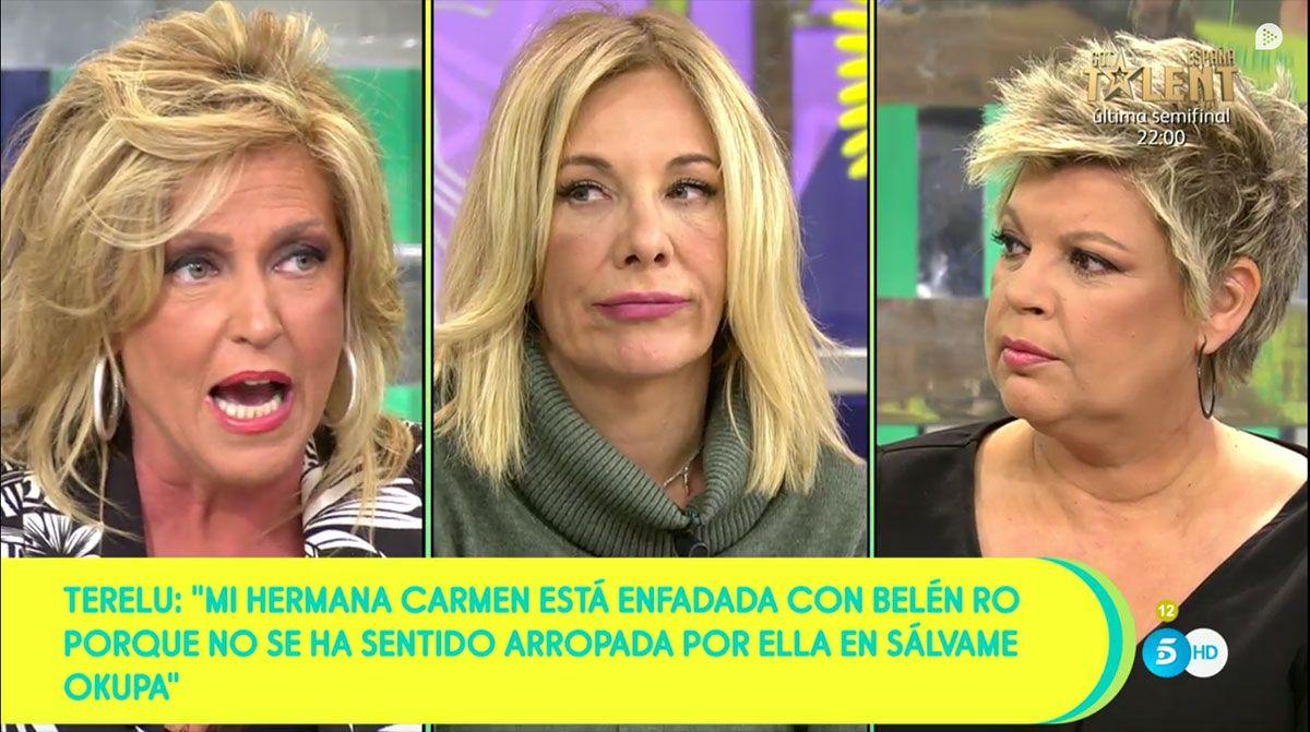 Lydia Lozano, Belén Rodríguez y Terelu Campos