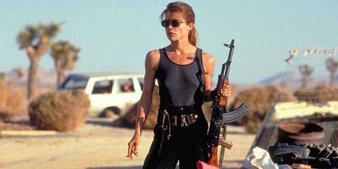 Sunglasses, Goggles, Machine gun, Ammunition belt, Shotgun, Belt, Air gun, Action film,