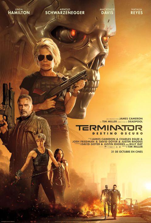Terminator Destino Oscuro Futuro - James Cameron Planes Franquicia