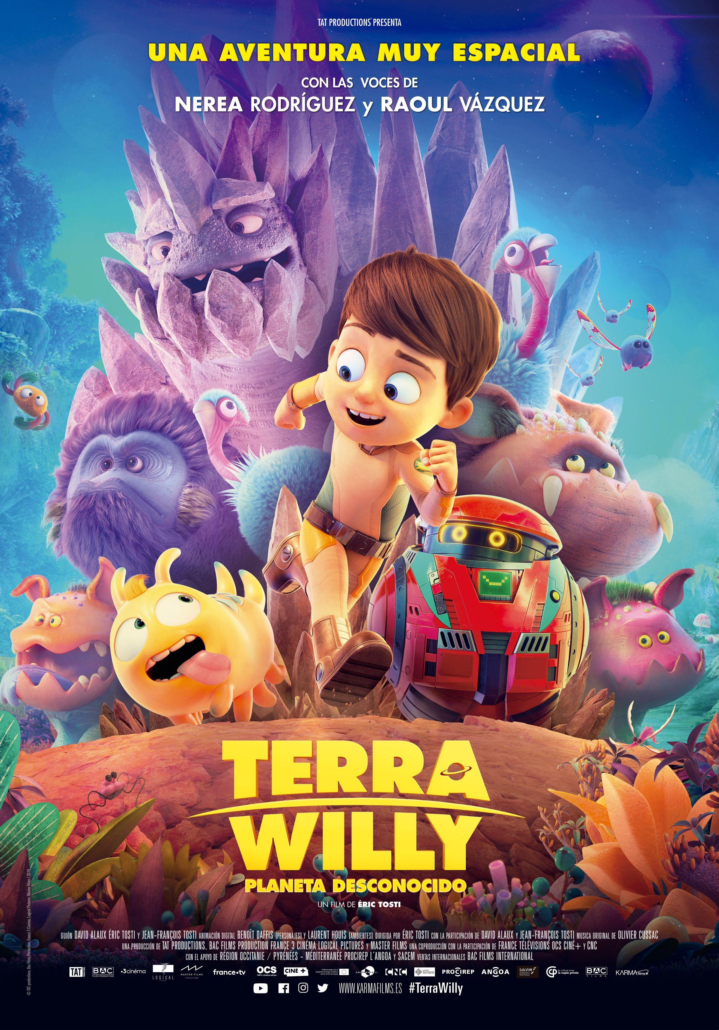 Terra Willy Clip Exclusivo - Película Voces Nerea y Raoul OT 2017